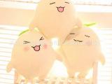 卡通苹果APP游戏曼陀拉毛绒娃娃 可爱笑脸毛绒玩具 情侣玩偶大号