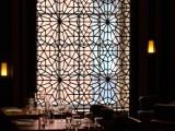 金筑达专业制作和安装不锈钢屏风 西餐厅拉丝不锈钢屏风隔断