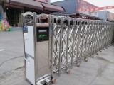 捷鹰科技电动伸缩门的作用和特点 成都电动伸缩门