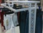 服装店到期 有一个一米二的落地衣架出售 双侧挂 有