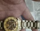 转让9成新18克镀金宝斯手表1枚,全自动机械,卖或换石英表。