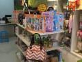 永盛货架出售孕婴店货架,实木货架,吧台,收银台可定制