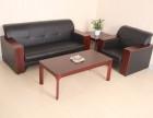 沙坪坝办公家具办公沙发木扶手会客沙发折叠桌椅办公会议桌