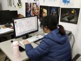 广州零基础学美术 学动画原画 学设计哪里好 学插画选名玛雅