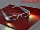 新款:LED老花镜 带灯花镜 LED带灯老花眼镜 LED眼镜 老