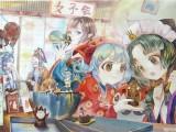 广州里有动漫原画培训 游戏原画 美术培训 手绘美术选名玛雅