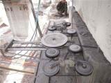 无锡混凝土绳锯切割公司 绳锯切割钱一平方 静力切割