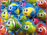 生产供应 年货卡通六彩鱼巧克力 儿童创意糖果多宝鱼巧克力