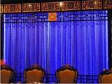 流水魔性发光窗帘光电分离五颜六色的窗帘装饰照明光纤