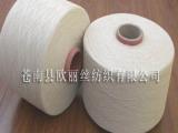 生产优质再生棉纱线 再生棉纱 手套纱 袜子纱 本白手套纱5-12