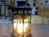 户外落地灯风景区度假村步道灯欧式玻璃蜡烛灯防水定制厂家