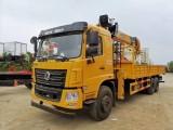 东风T5玉柴270马力配长兴12吨吊机