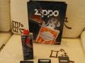 Zippo 打火机正品 送配件