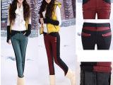 2014秋冬新款加绒加厚牛仔裤女韩版水貂绒铅笔裤弹力牛仔裤 女式