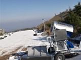 人工造雪机造雪模仿天然降雪而研发 造雪机工作需电水温度