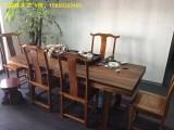 黑檀大板桌现货实木奥坎巴西花梨办公桌老板桌
