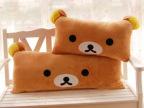 毛绒玩具批发轻松熊双人枕单人枕抱枕靠枕创意可爱