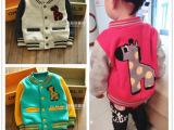 童装外贸2014春秋款新品小童夹克开衫儿童棒球服外套宝宝卫衣加厚