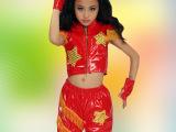 宾娜诗 儿童演出服装男童街舞服装新款女童演出服装现代舞表演服