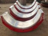 錫基合金軸瓦生產廠 球磨機軸瓦加工 軸套 滑動軸承定制