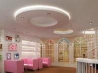 影楼无影墙装修实景创意设计定制北京儿童影楼装修公司