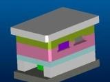高端手机电池框架外壳开模 低温注塑料模具