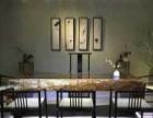实木大板巴花大板黑檀茶桌组合椅奥坎黄花梨大板原木根雕茶几