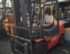 出售经济款原装3吨内燃装卸叉车 二手杭州叉车 合力平衡重叉车