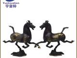 厂家直销铜器马到成功 马踏飞燕工艺品摆件摆设装饰礼品生肖马