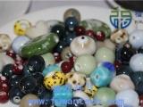DIY珠子 福万陶瓷能量珠子 厂家定制陶瓷珠 会销礼品 批发