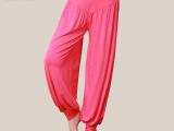 2014新款正品莫代尔瑜珈裤收口灯笼裤舞蹈裤太极裤运动服瑜伽服女