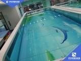 宜賓玻璃親子游泳玻璃池