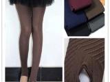 A338立体斜线斜条纹连裤袜 天鹅绒丝袜