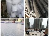 塑料排水板 高分子异形排水片 加强型蓄排水板 蓄排水板厂家