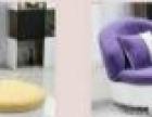 低价出售个性紫色小沙发,赠地毯一张!