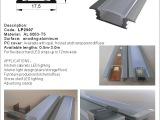 大量生产供应带PC罩LED硬灯条外壳铝槽线形灯具家具灯配件