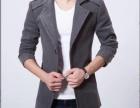 新款韩版修身羊毛呢子大衣男中长款青年商务毛呢大衣外套英伦风衣