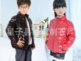 厂家直销 儿童羽绒服 亮面童装