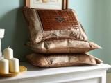 夏季新款凉席枕头 玉石夏凉枕 自然植物花茉莉茶香保健枕批发