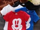 新疆哈密地区哪里有外贸赶集库存童装淘气可爱舒适童T恤批发