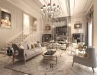 重庆别墅装修案例 欧式新古典设计 庆隆高尔夫别墅