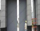 商业钢制电动平移门定制,工业平移大门,集团公司电动平移门价格