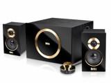 库存全新音箱 发烧木质音响2.1多媒体音箱 低音炮音响 线控音箱