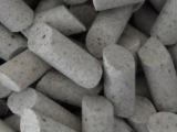 斜圆柱棕刚玉研磨石   斜三角棕刚玉研磨石  研磨抛光材料