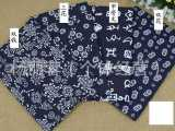 蓝印花布 仿蜡染布 棉麻 民族风 古典花布