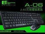 ET A-06 2.4G无线 智能电视专用键盘 笔记无线本键盘鼠