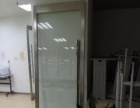 9成新办公室玻璃门