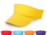 儿童广告帽纯棉空顶帽小孩太阳帽遮阳帽无顶帽子团体定制批发零售