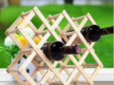 特价新款实木酒架/木质红酒架木制葡萄酒柜/欧式创意礼品礼物