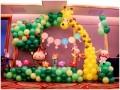青岛气球装饰 开业气球求婚气球 生日策划 小丑表演